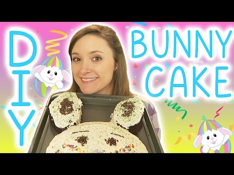 How to Make a Bunny Cake!
