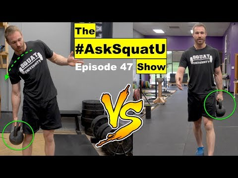 Core Stability: Side Bends or Suitcase Carry? |#AskSquatU Show Ep. 47|