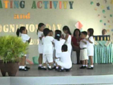 chicken dance of my little brother.
