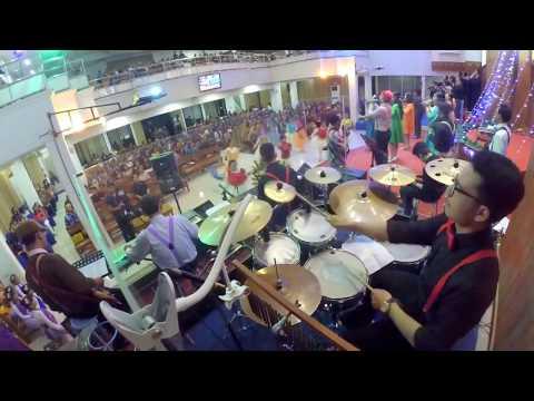 Gloria in Excelsis Deo (Dari Pulau dan Benua) | DRUM CAM