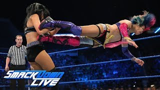 Asuka vs. Billie Kay: SmackDown LIVE, July 24, 2018