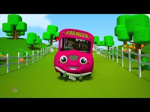 roda di bus | puisi untuk anak-anak | sajak pembibitan | Wheels On The Bus | Kids Rhymes | Kids Song