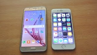 Samsung Galaxy J7 vs iPhone 6 - Speed Test & Full Comparison