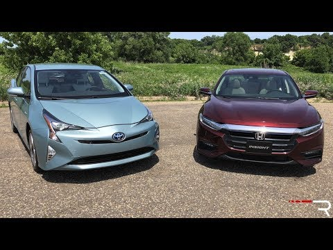 Toyota Prius Versus Honda Insight Japan S Hybrid War Youtube