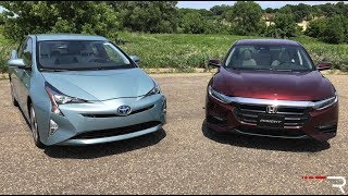Toyota Prius Versus Honda Insight – Japan's Hybrid War!