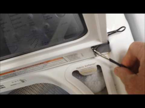 Whirlpool Cabrio Broken Lid Hinge Simple Fix Youtube