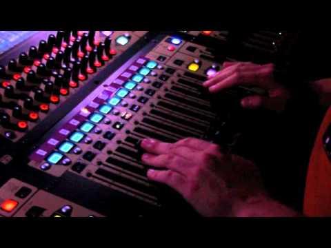 The hidden work behind broadyway show; sound engineer mixing during Peter Pan. -