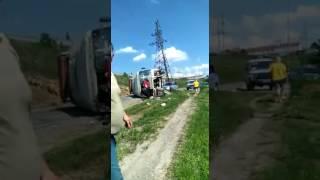 Невинномысск. Авария в районе Низков. 29.05.2017