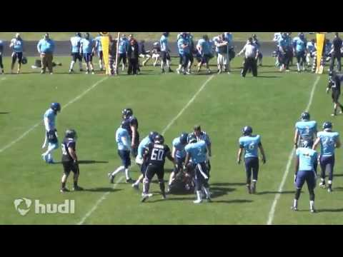 Mike Glenn 2014 Spokane Wolfpack Football highlights