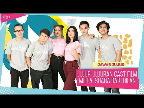 Iqbaal Ramadhan Semangat Banget Main Adu Jujur Sama Vanesha    Cast Milea: Suara Dari Dilan