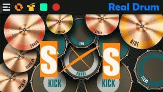 S.O.S - Bondan Prakoso & Fade2Black   Real Drum cover