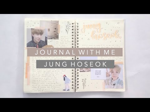 🌻 (kpop) journal with me | j-hope birthday spread