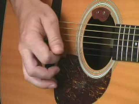 Flatpicking lesson 1: right hand technique