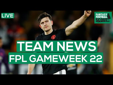 FPL GW 22 | TEAM NEWS - INJURIES AND LINEUPS | Fantasy Premier League Tips 19/20