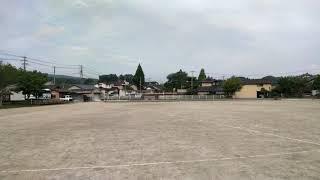 Aso Shiritsu Aso Elementary School (日本 熊本県 阿蘇市立阿蘇小学校 阿蘇國小 烏鴉的叫聲)