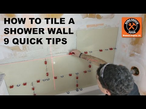 How to Tile a Shower Wall (9 Quick Tips)