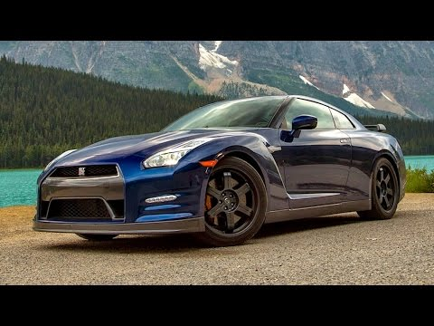 Absolute Alberta! 2015 Nissan GT-R Black Edition Flies Thru Canadian Rockies! - Epic Drives Ep. 30