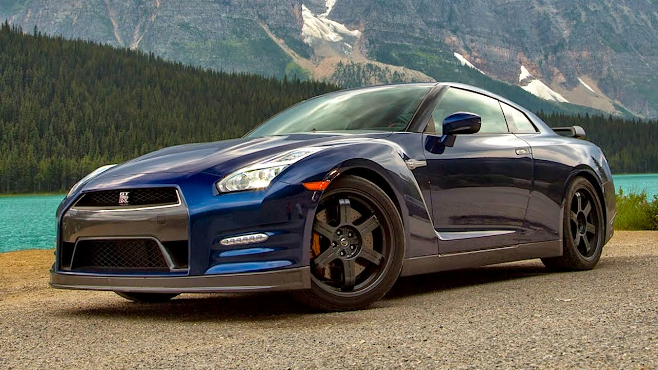 2015 Nissan GT R Black Edition Flies Thru Canadian Rockies!   Epic Drives  Ep. 30   YouTube