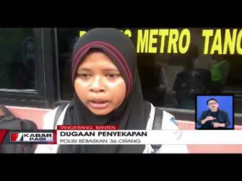 Polres Tangerang Berhasil Membebaskan 36 Orang Yang Diduga Disekap Oleh Perusahaan di Bidang Alat Ke