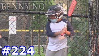 LUMPY'S FIRST WORKOUT WITH A NEW BASEBALL TEAM! | BENNY NO | VLOG #224