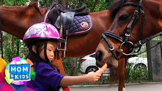 Pasti Seru Banget! Sarwendah Dan Thalia Sang Putri Berkuda, Lucu Bgt - Mom & Kids (19/8)