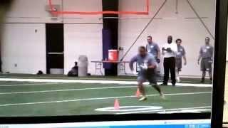 2013 NFL COMBINE FULLBACK PROSPECT FRED DOUGLAS coach.d123@yahoo.com