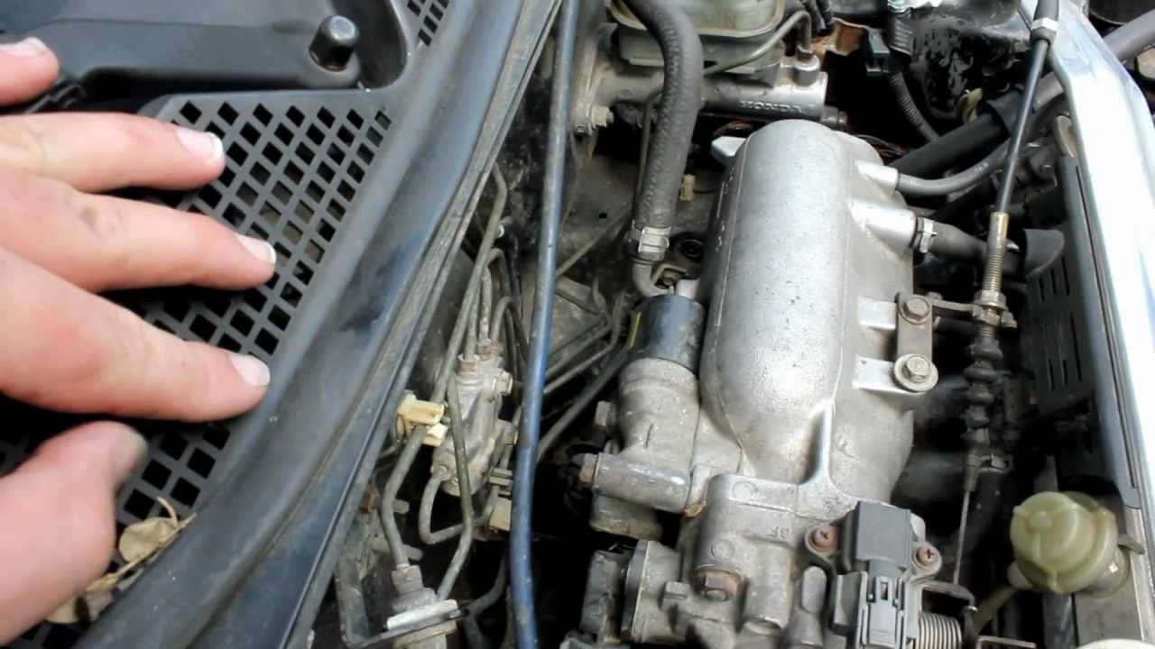 Fix Poor Honda Idle, Replace IAC  YouTube