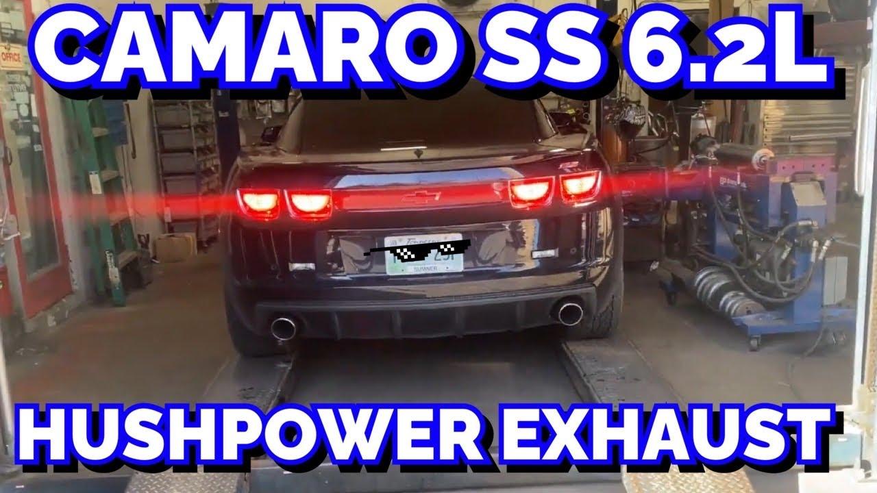 2011 Chevy Camaro SS 6.2L V8 TRUE DUAL EXHAUST w/ HUSHPOWER by FLOWMASTER!