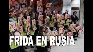 Frida Kahlo conquista Moscú