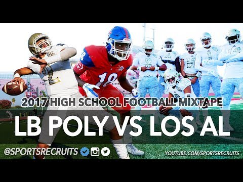 LB Poly vs Los Alamitos HS Football Highlights: Friday Night Lights @SportsRecruits Mix