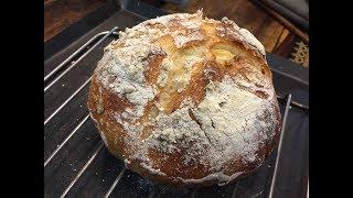 超簡單歐式麵包:免揉、免烤箱 (完整版)