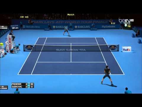 Tennis Elbow 2013  Federer vs Djokovic  World Tour Finals