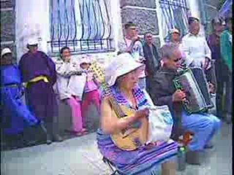 Street musicians in UlaanBaatar, Mongolia - part 5