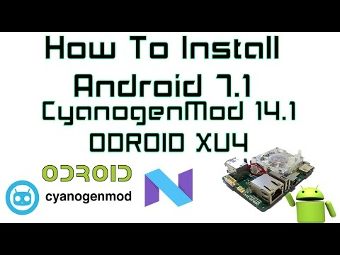 LineageOS-14 1 Android 7 1 1 Nougat for ODROID-XU3/XU4 - ODROID