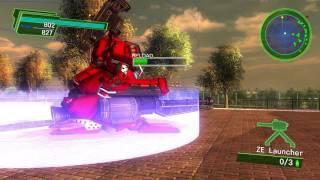 EARTH DEFENSE FORCE (EDF) 4.1  The Shadow of New Despair - Air Raider -Gameplay