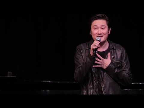 Paul Kwo sings Hello Love Acoustic Live Version at CSULA 2016