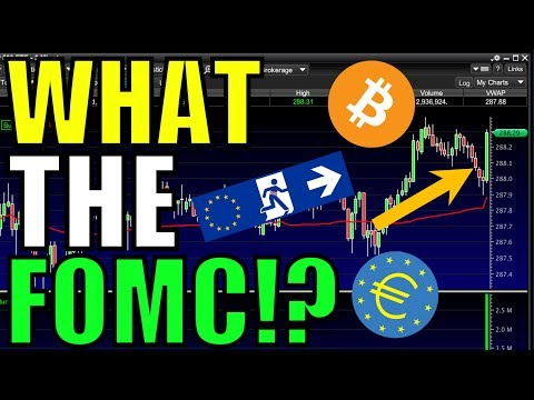 What FOMC Did To The Stock Market Today – ECB, Brexit, China Trade Deal, & Bitcoin