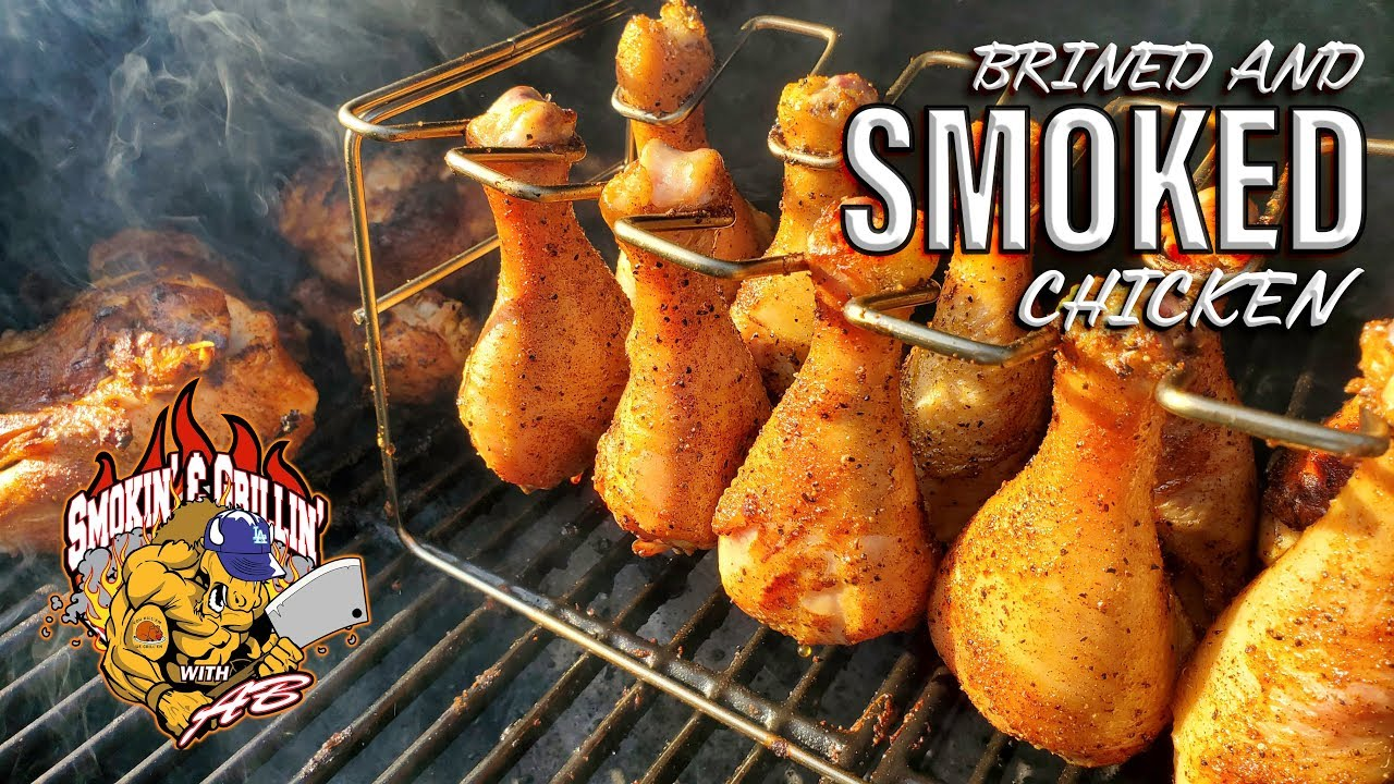 (101) Brined and Smoked Chicken | Pit Boss Pellet Smoker - YouTube