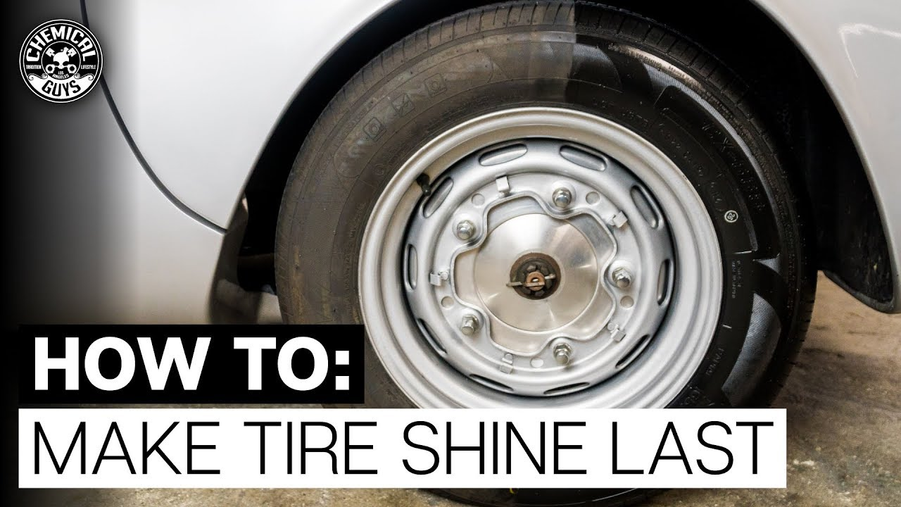 How To Make Tire Shine Last 1955 Porsche 550 Spyder