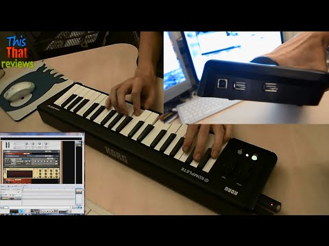 Korg microKEY 37 – Easy to use MIDI keyboard with solid keys + 2 USB ports