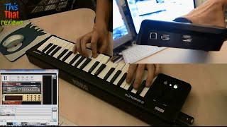 Korg microKEY 37 - Easy to use MIDI keyboard with solid keys + 2 USB ports