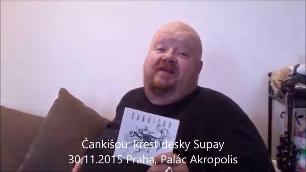 Čankišou: pozvánka na pražský křest desky Supay 30.11.2015