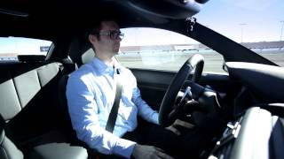 BMW M235i - the self driving/drifting car (autonomous driving CES Las Vegas January 2014)