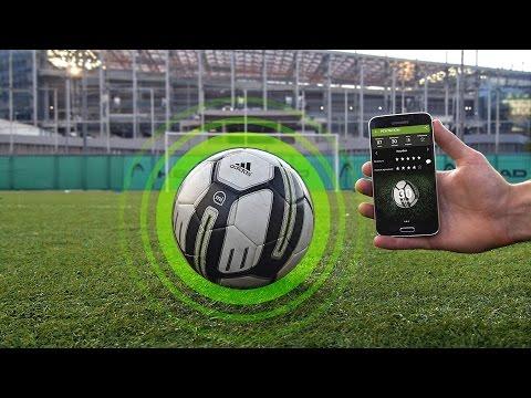 УМНЫЙ МЯЧ от Adidas. Тестируем Smart Ball