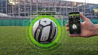 УМНЫЙ МЯЧ  Высокие технологии футбола   Adidas Smart Ball