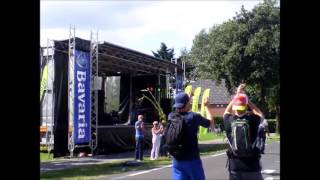 PARIAH AND STREAM AT 4 DAY MARCHES NIJMEGEN 2012.wmv