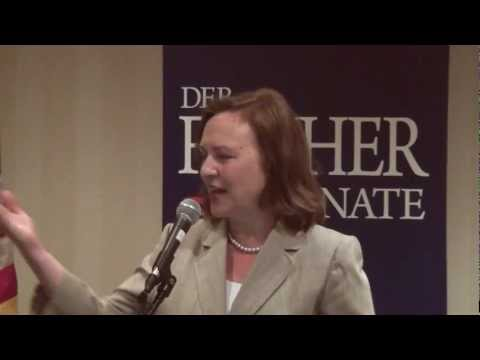 Deb Fischer thanks Omaha supporters on 5/17/2012