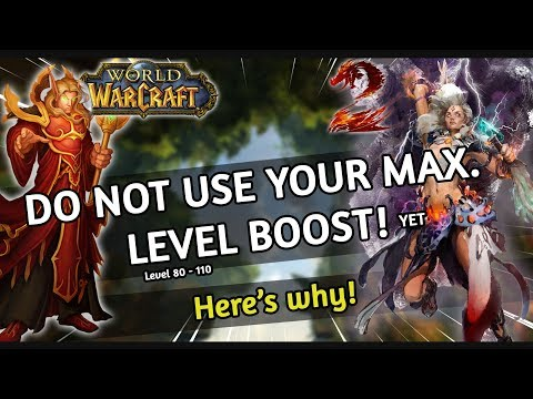 Do NOT use your max. level (80 GW2 - 110 WoW) boost yet! | Guild Wars 2 & World of Warcraft Guide thumbnail