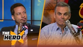 Chris Broussard on the next stage of LeBron's career, Harden's WCF vs Golden State | NBA | THE HERD