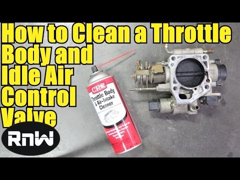 clean  throttle body  idle air control iac